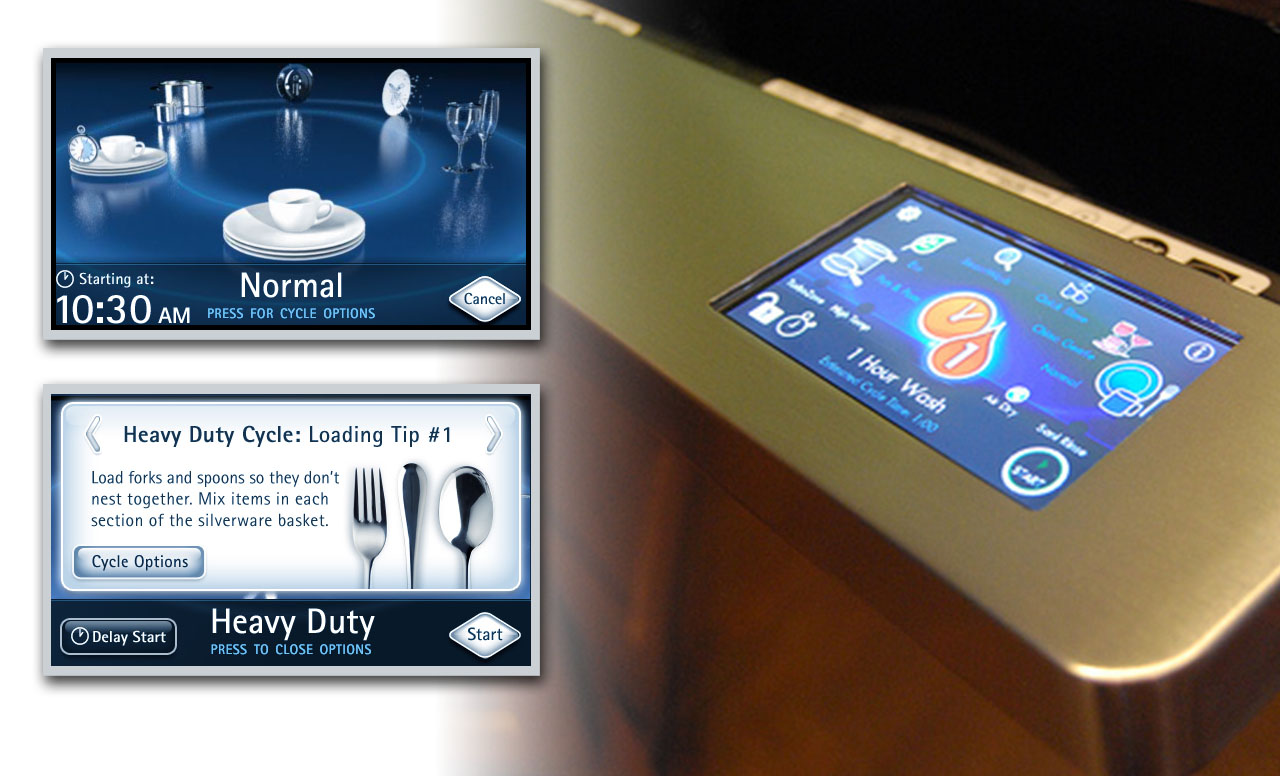 Dishwas User Interface